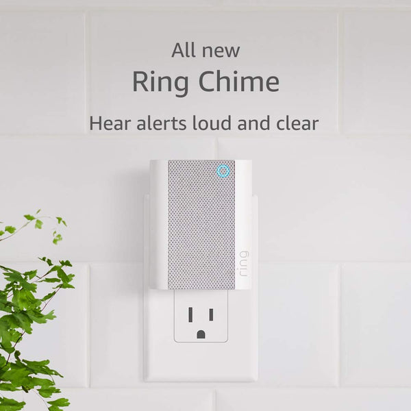 All-new Ring Chime, A Wi-Fi-Enabled Speaker for Your Ring Doorbells and Security Cameras