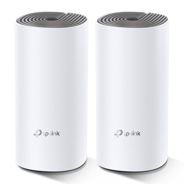 TP-Link Deco E4 AC1200 Whole Home Mesh Wi-Fi System (2-Pack) | Compatible with Alexa