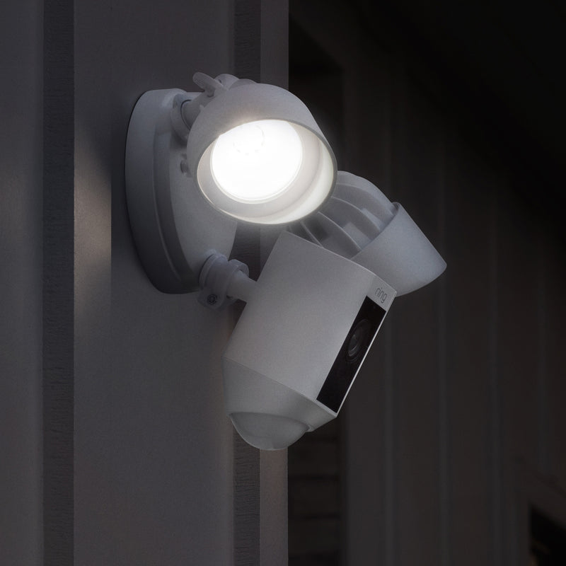 Ring Floodlight Camera: Motion-Activated HD Security Cam, Two-Way Talk and Siren Alarm