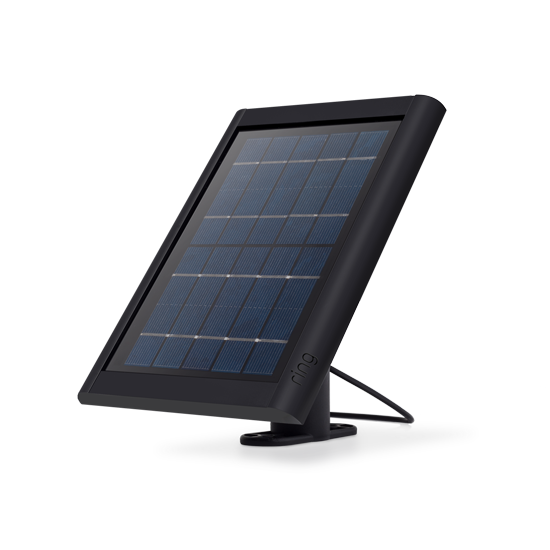 Ring Solar Panel - Compatible with Ring Spotlight Cam Battery and Stick Up Cam Battery