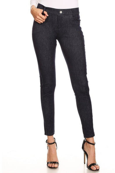 Soft Skinny Denim Leggings