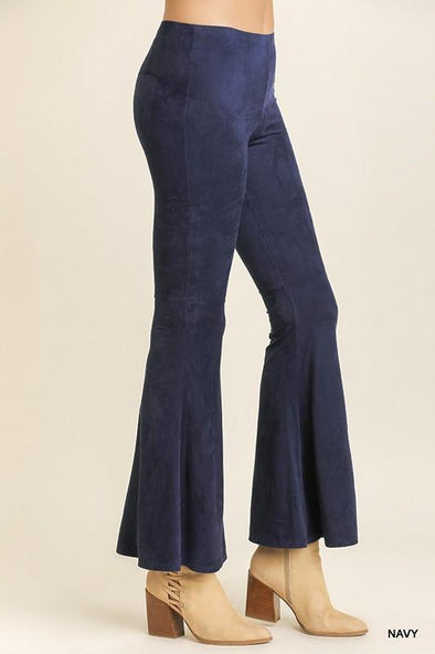 Ultra Suede Bell Bottoms