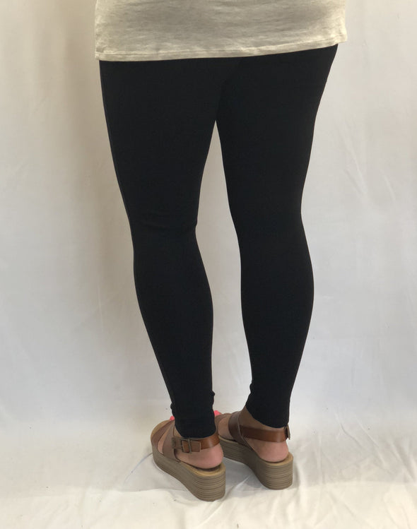 PLUS Basic Black Leggings