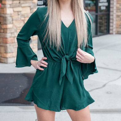 Green with Envy Romper