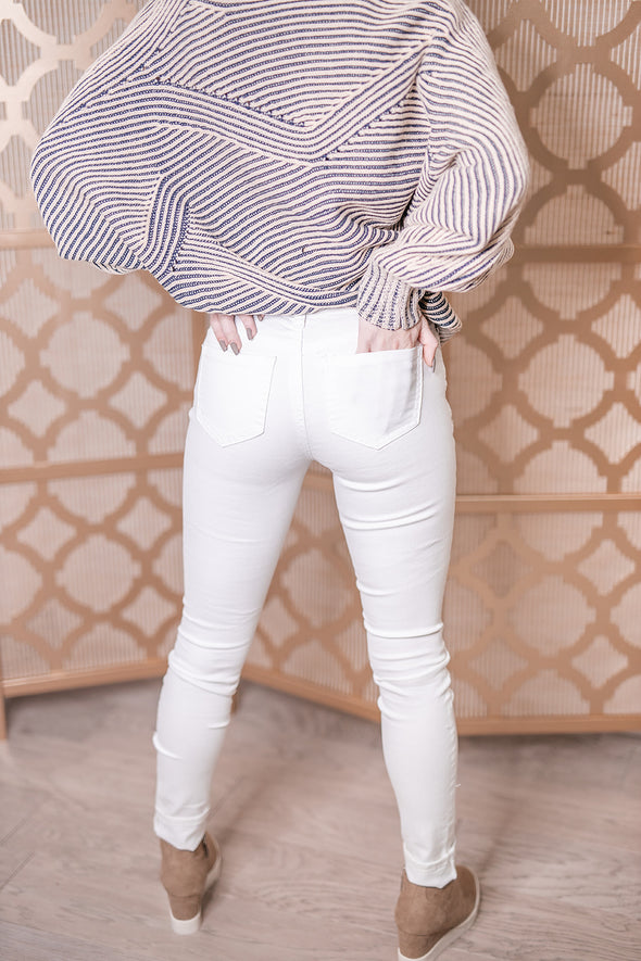 Cara Jeans - White