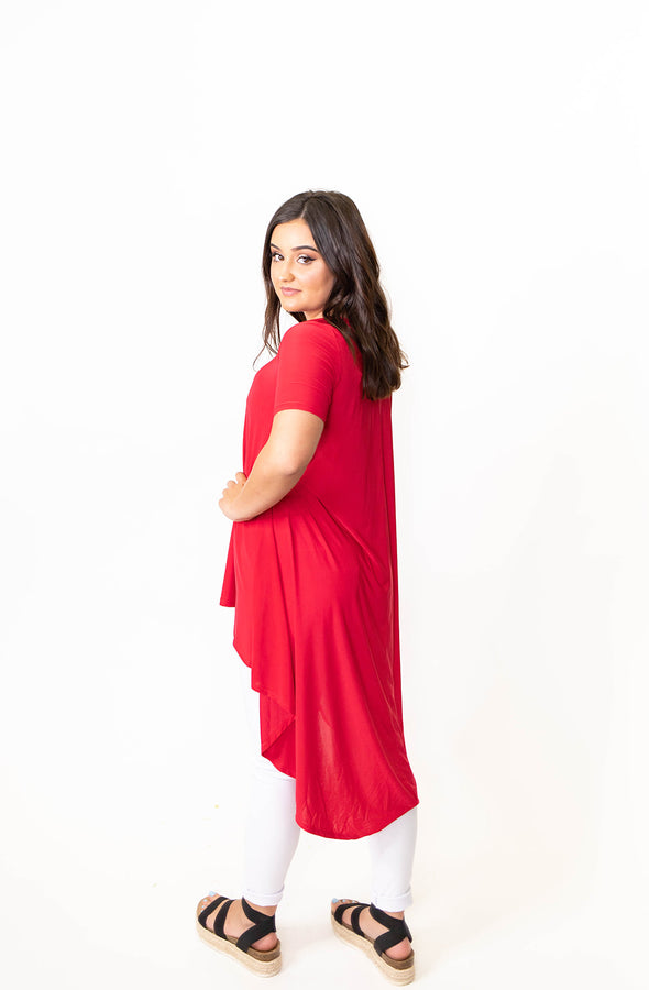 Venezia High Low - Red