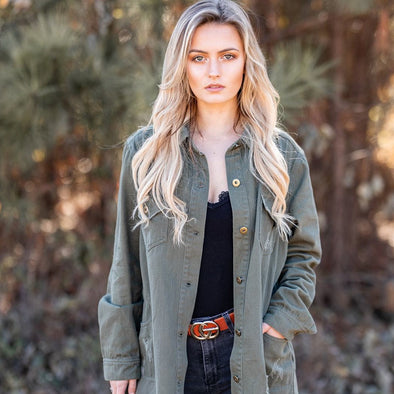 Crazy Days Jacket - Olive