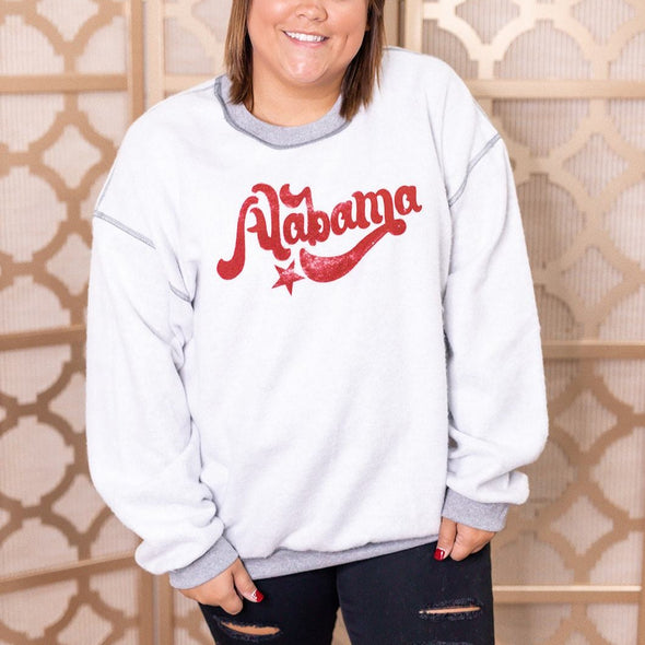 Inverted Sweatshirt - Alabama