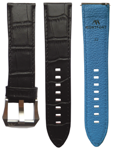Calf Leather - Croc Pattern B1