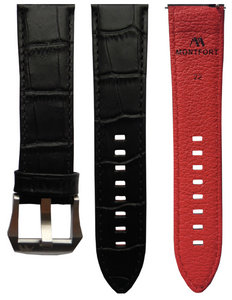 Calf Leather - Croc Pattern R1