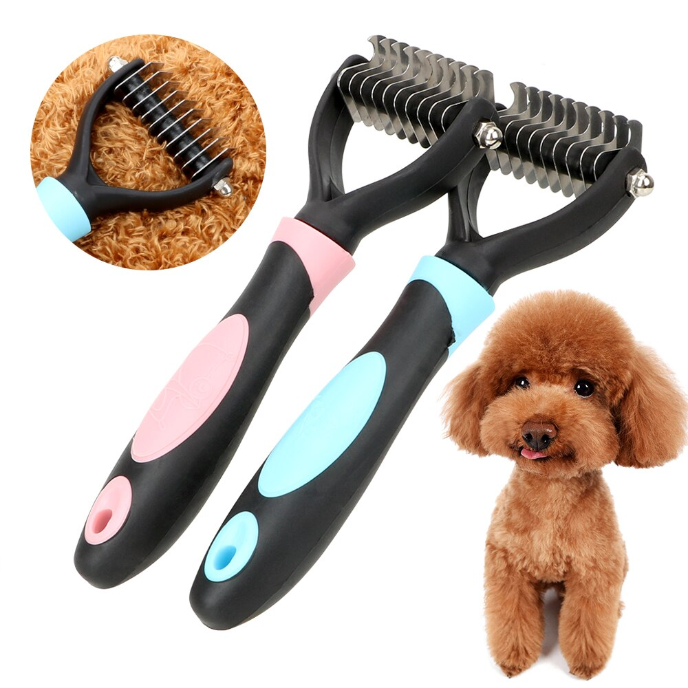 Hair Removal Comb Pet Brush – Woofer Dog