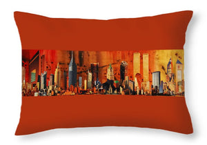 City Life - Throw Pillow