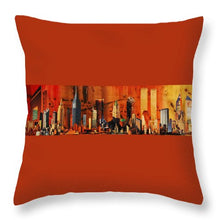 Load image into Gallery viewer, City Life - Throw Pillow