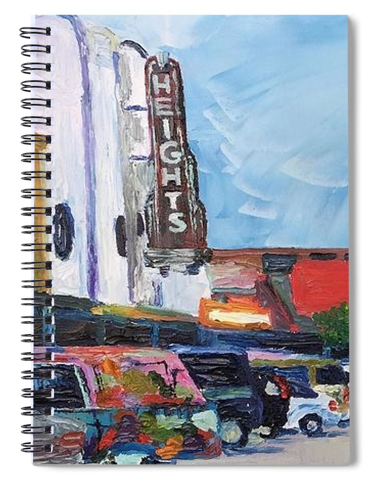 19th St Houston Heights TX - Spiral Notebook