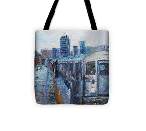 2 Train - Tote Bag