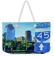 Load image into Gallery viewer, 45 S Allen Parkway - Weekender Tote Bag
