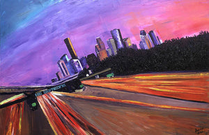 A French View of Houston - Art Print