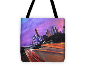 A French View of Houston - Tote Bag