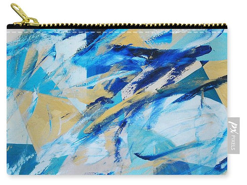 Abstracted Geometry - Carry-All Pouch