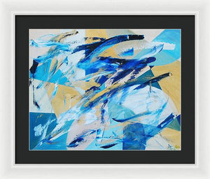 Abstracted Geometry - Framed Print