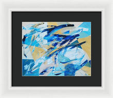 Load image into Gallery viewer, Abstracted Geometry - Framed Print
