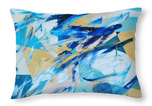Abstracted Geometry - Throw Pillow