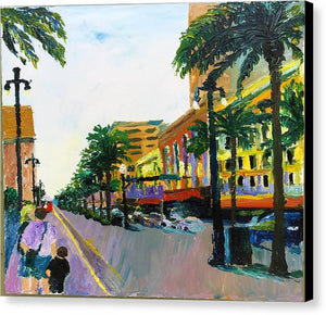 Canal St.  - Canvas Print