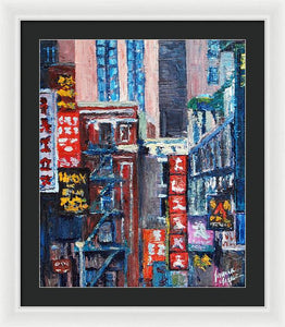 Chinatown - Framed Print