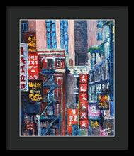 Load image into Gallery viewer, Chinatown - Framed Print