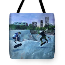 Load image into Gallery viewer, City Wave - Tote Bag
