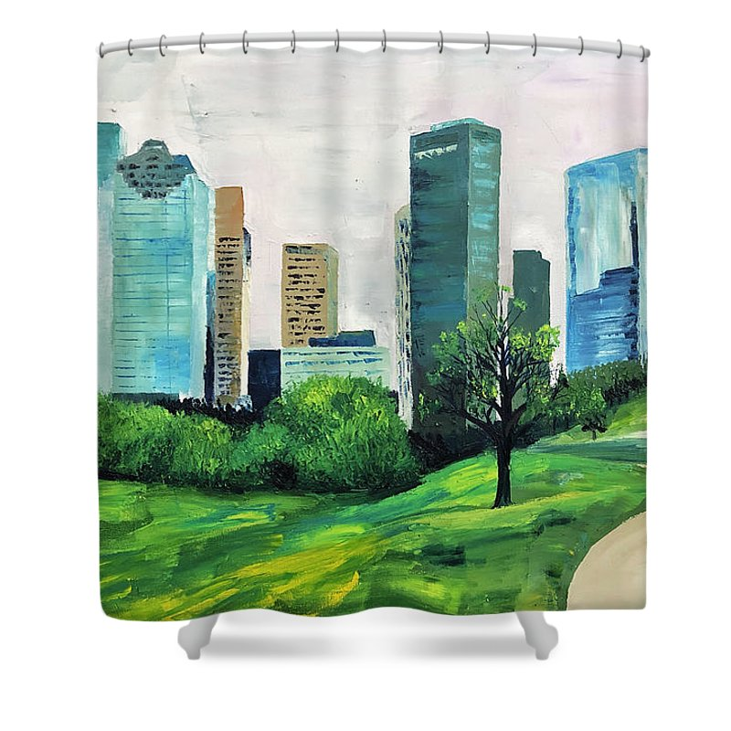 Cool Cool Bayou - Shower Curtain