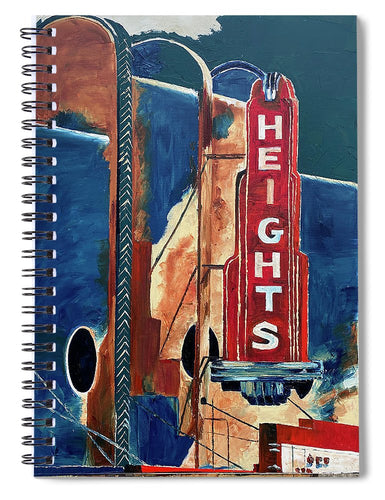 Dreams in The Heights - Spiral Notebook
