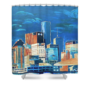 Dreams of Houston - Shower Curtain