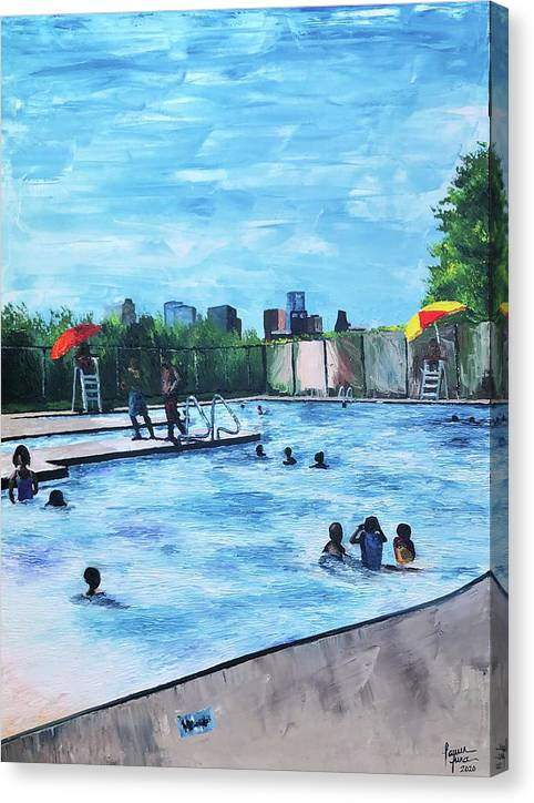 Emancipation Park - Canvas Print