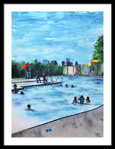 Emancipation Park - Framed Print
