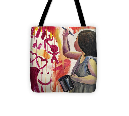 Every Child is an Artist - Tote Bag