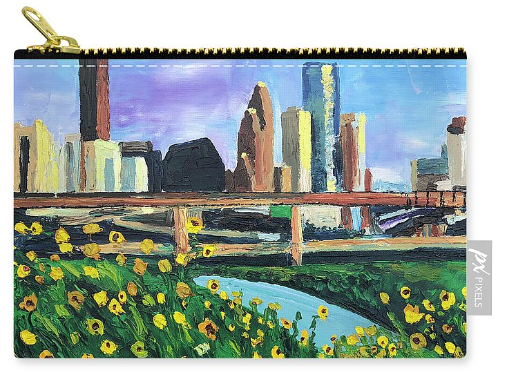 Glass Castles and Sunshine Gardens - Carry-All Pouch