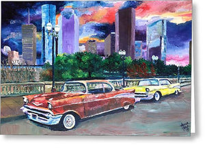 H-Town Rollin - Greeting Card