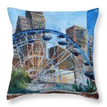 Load image into Gallery viewer, Houston Aquarium - Throw Pillow