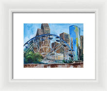 Load image into Gallery viewer, Houston Aquarium - Framed Print