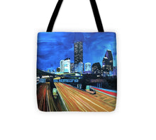 Load image into Gallery viewer, Houston Night Moves - Tote Bag