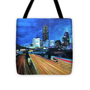 Houston Night Moves - Tote Bag