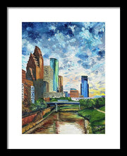 Load image into Gallery viewer, Houston Skies - Framed Print
