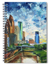 Load image into Gallery viewer, Houston Skies - Spiral Notebook