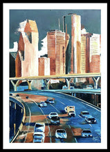 Load image into Gallery viewer, Houston Space City - Framed Print