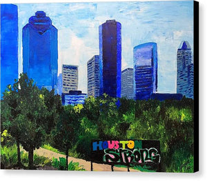 Houston Strong - Canvas Print