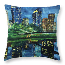 Load image into Gallery viewer, Houston's Reflections - Throw Pillow
