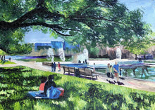 Load image into Gallery viewer, Lunch at Hermann Park - Puzzle