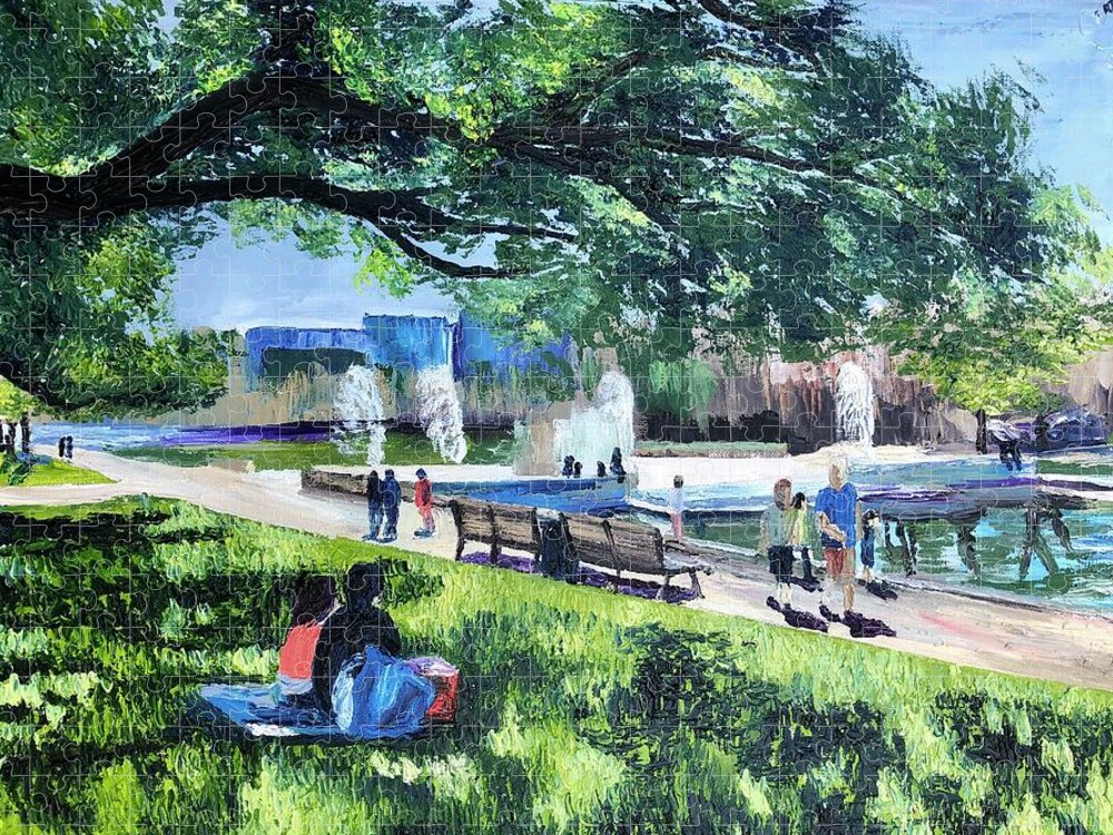 Lunch at Hermann Park - Puzzle