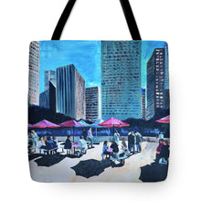 Load image into Gallery viewer, Lunch with Titans - Tote Bag